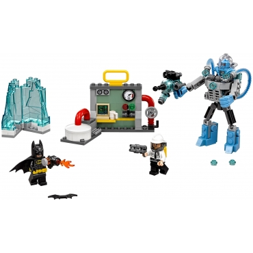 LEGO Batman Movie, Lodowy atak Mr. Freeze'a™, zestaw klocków, 70901