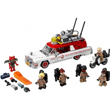 75828 Ghostbusters Ecto 1&2