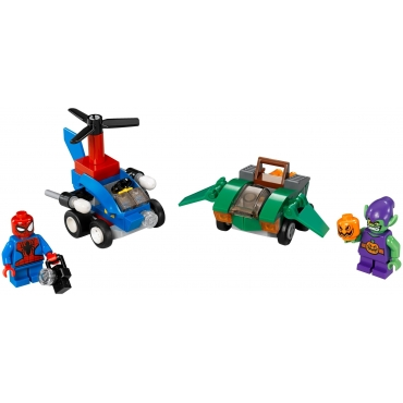 76064 Spiderman kontra Zielony Goblin