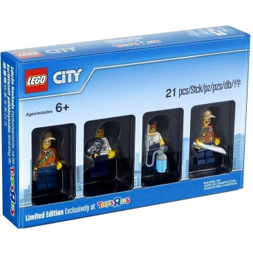 5004940 Kolekcja minifigurek City Jungle